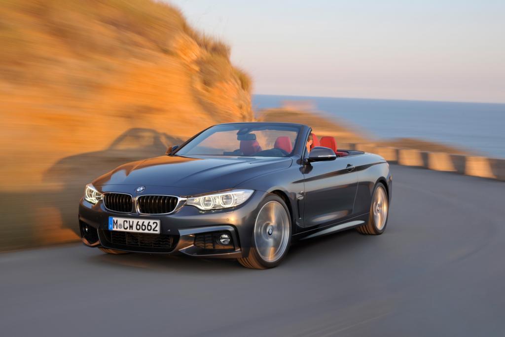 Das BMW 4er Cabrio gibt sein Messedebüt