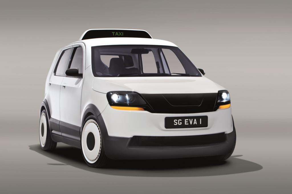 Das Elektrotaxi EVA ist speziell für tropische Regionen entwickelt worden