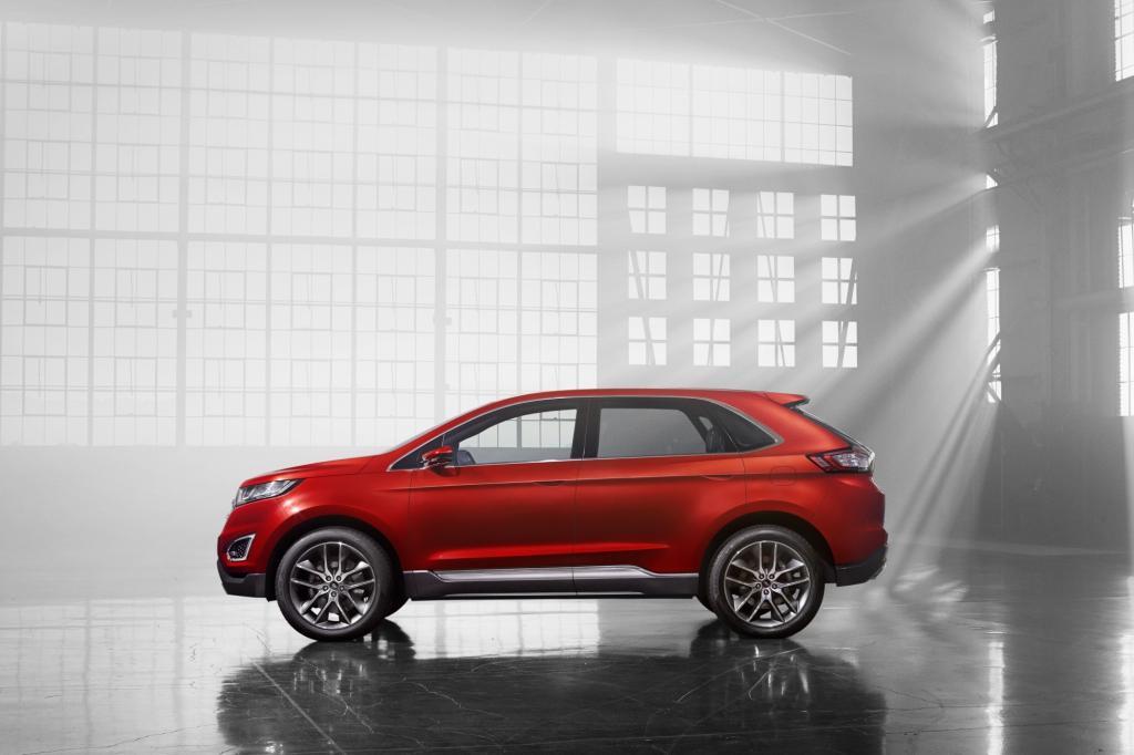 Das mittelgroße SUV (Länge 4,72 Meter) entsteht auf der Fusion/Mondeo-Plattform und soll weltweit angeboten werden.