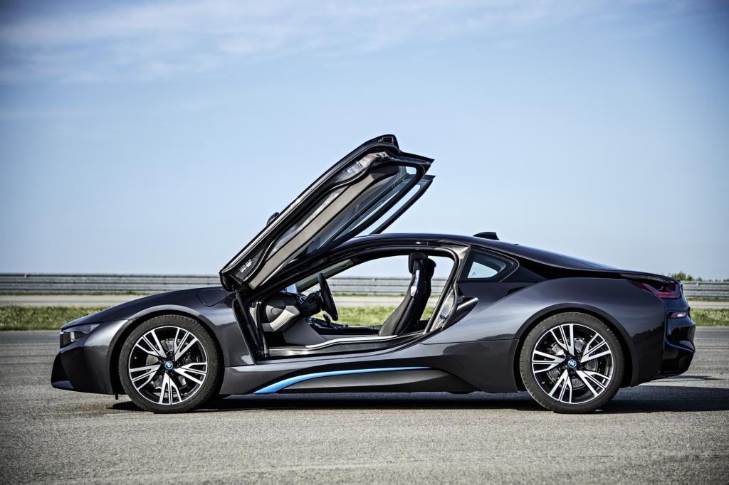 Der BMW i8 wird im kommenden Jahr auf den Markt kommen.