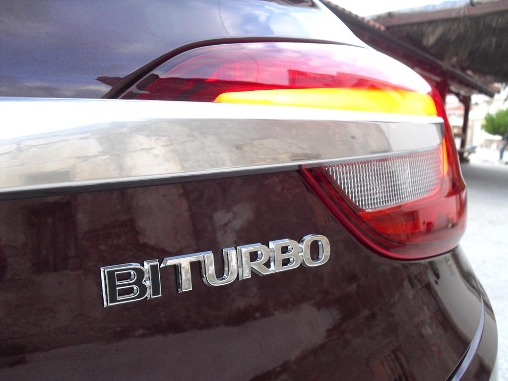 Der Biturbo ist in der Cascada-Baureihe das Spitzenmodell.