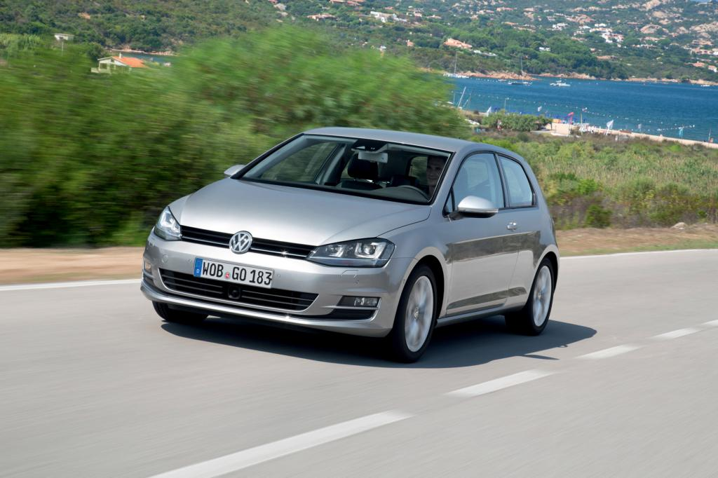 Der VW Golf fährt zeitweise nur auf zwei Zylindern