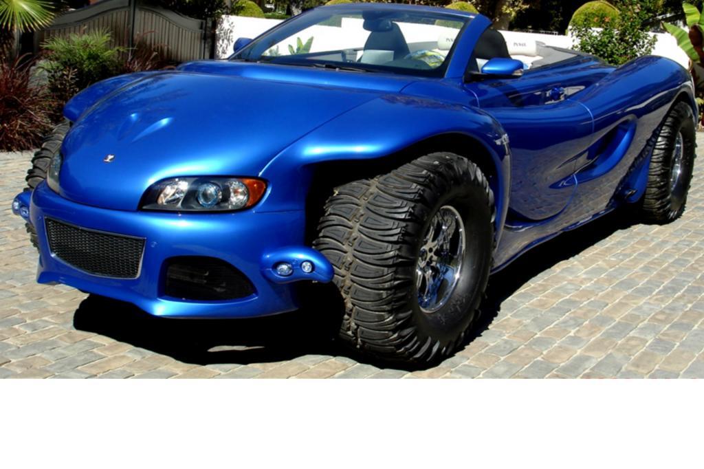 Designt ein Schönheitschirurg ein Fahrzeug, erwartet man ein wohlgeformtes und schönes Auto, das dem Auge schmeichelt.
