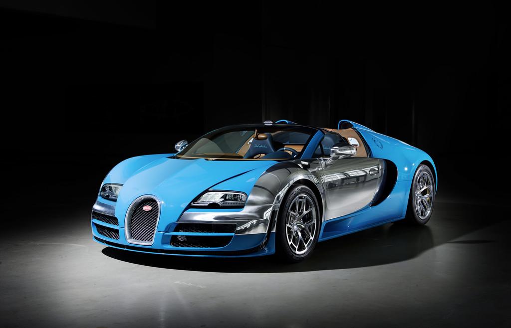 Dubai 2013: Dritter Legenden-Bugatti für Komplettisten