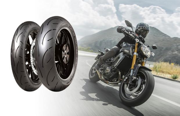 Dunlop Sportsmart 2 passt an 160 Motorräder