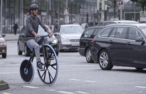 E-Bike Studie Concept 1865 - Hochrad mit Stromantrieb