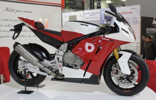 EICMA 2013: Neues Bimota-Sportmotorrad mit BMW-Motor