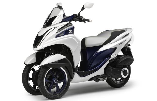 Eicma 2013: Bald rollt auch Yamaha auf drei Rädern