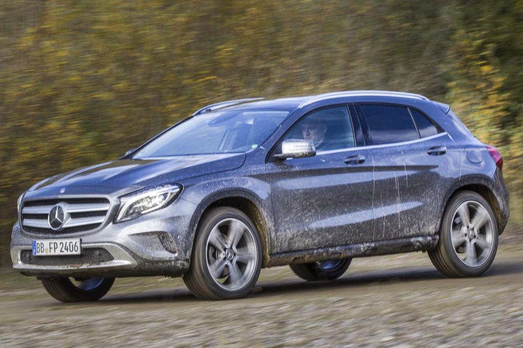 Eigentlich ist der Mercedes GLA nicht viel mehr als eine aufgebockte A-Klasse.