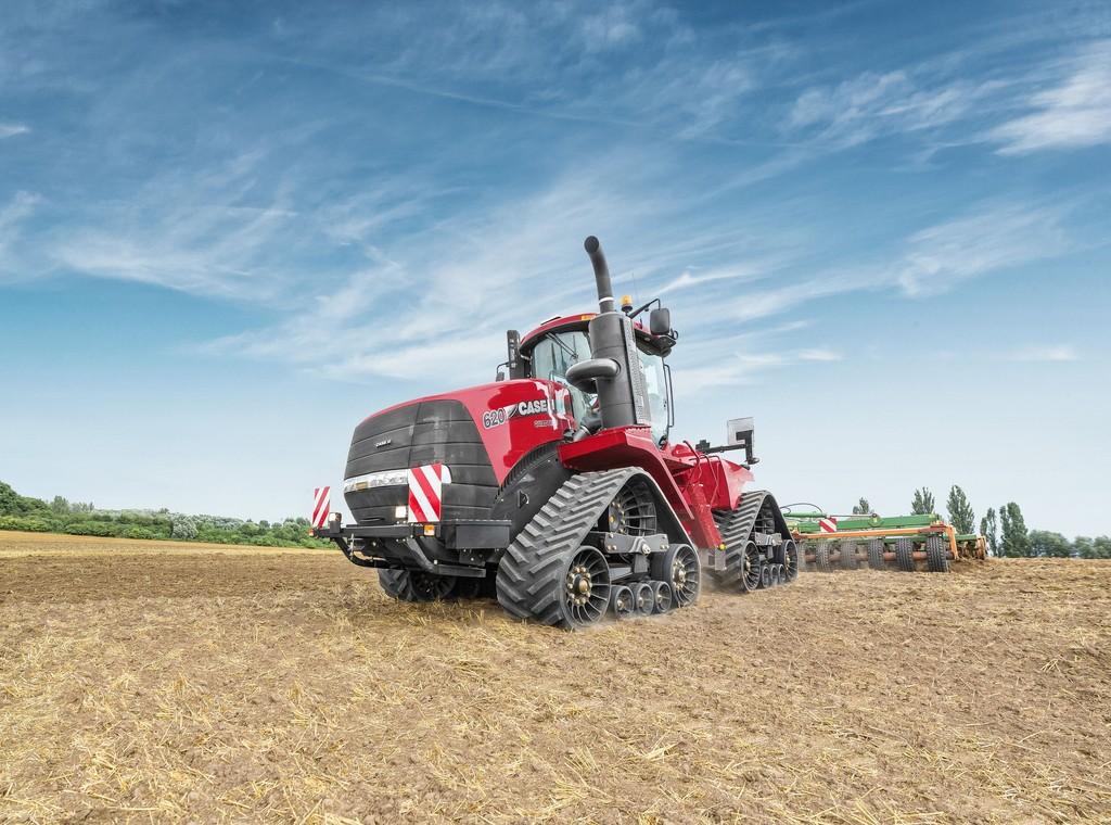 Ein Traktor wie ein Panzer: Der Quadtrac von Case IH