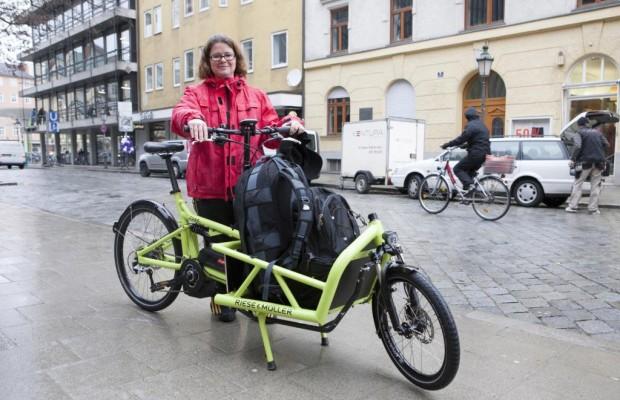 Familienkutsche mit Pedalen - Der überraschende Boom der Lastenfahrräder