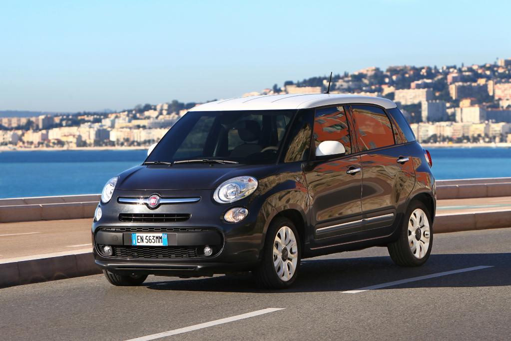 Fiat 500L für Fahrschulen zugelassen