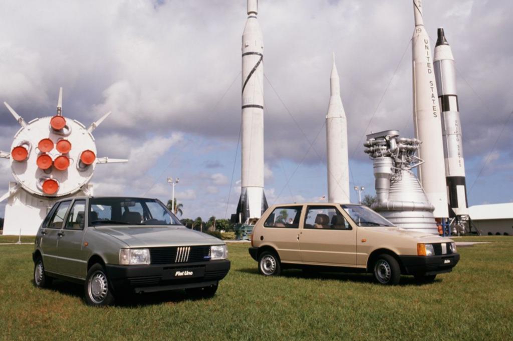 Fiat Uno Fünf- und Dreitürig Weltpremiere Cape Canaveral USA 1983