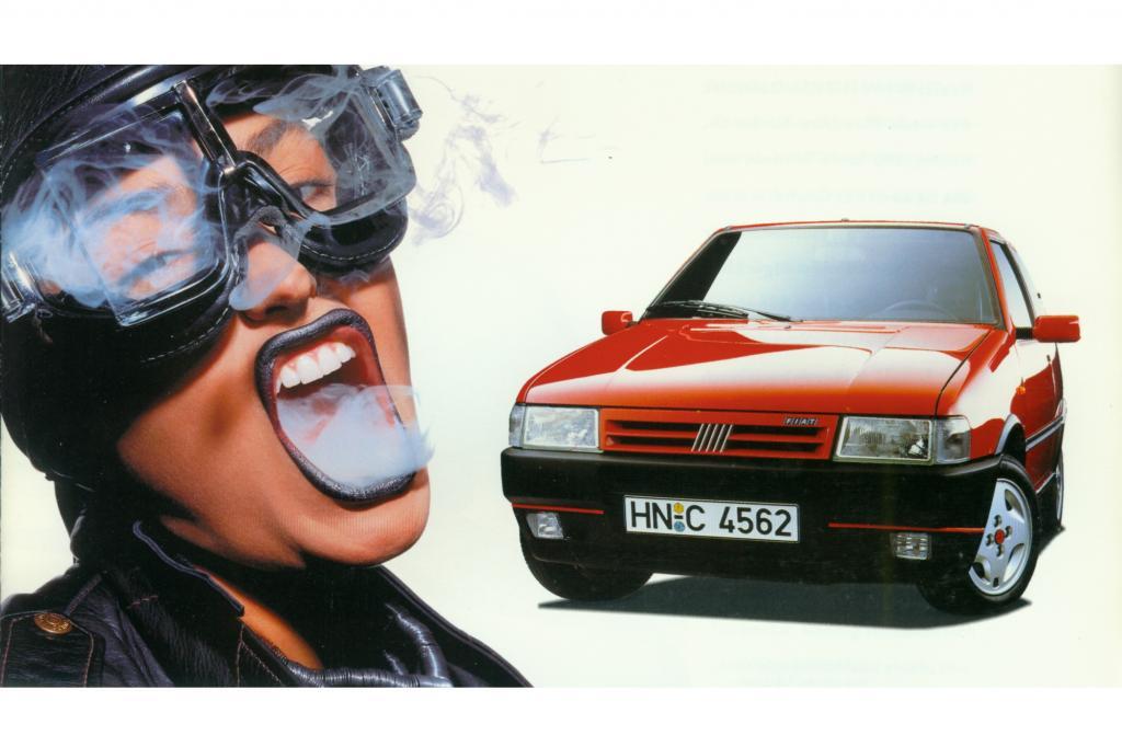 Fiat Uno Turbo IE ab 1989 Werbung