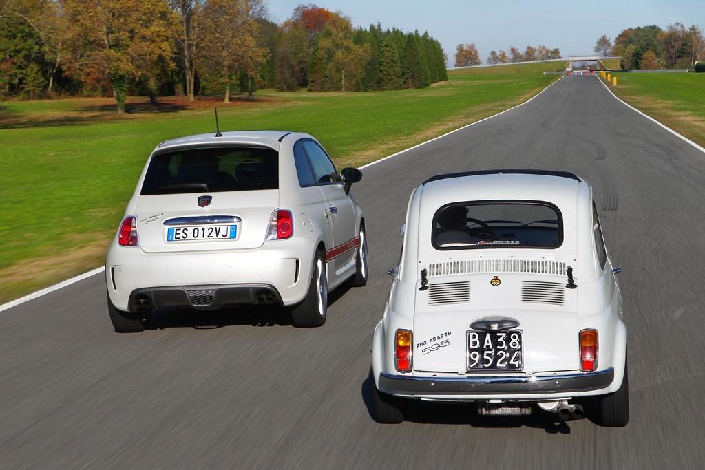 Fiat feiert den 50. Geburtstag des Abarth 595