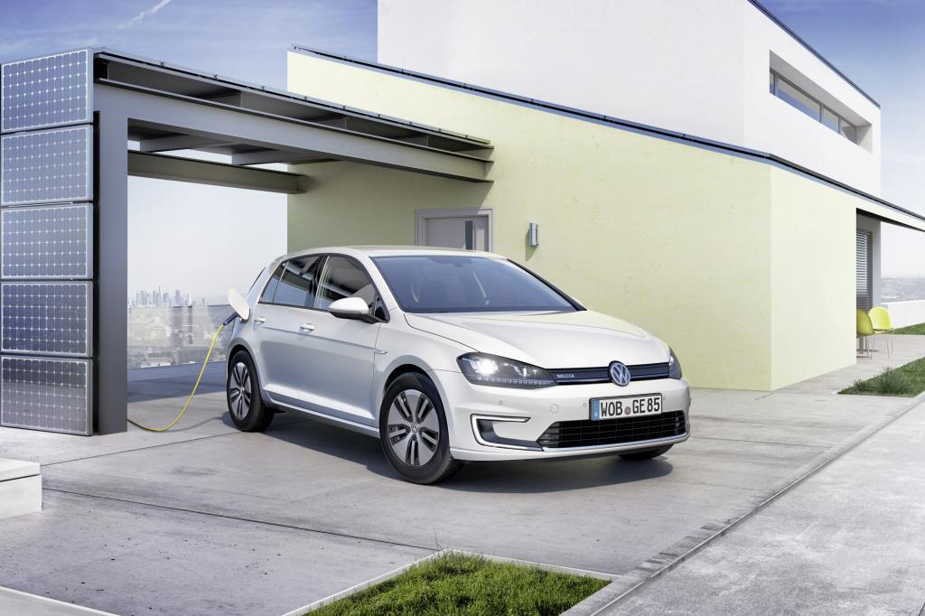Im Frühjahr nächsten Jahres bringt VW den vollelektrischen Golf auf den Markt