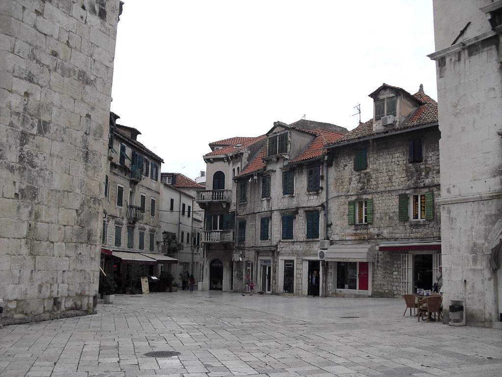 Im historischen Zentrum von Split.