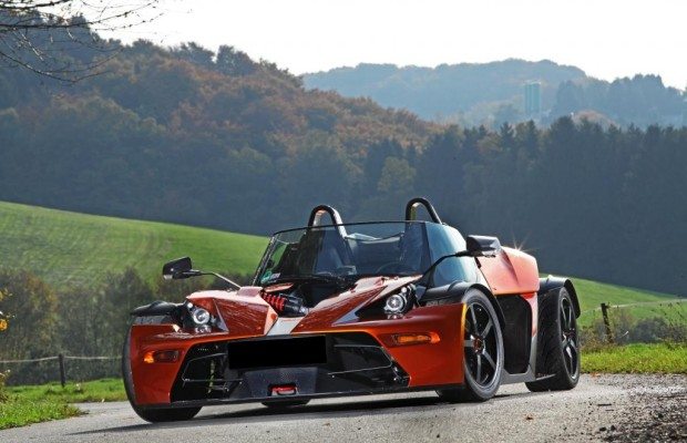 KTM X-Bow GT - Ausbruch der Technik