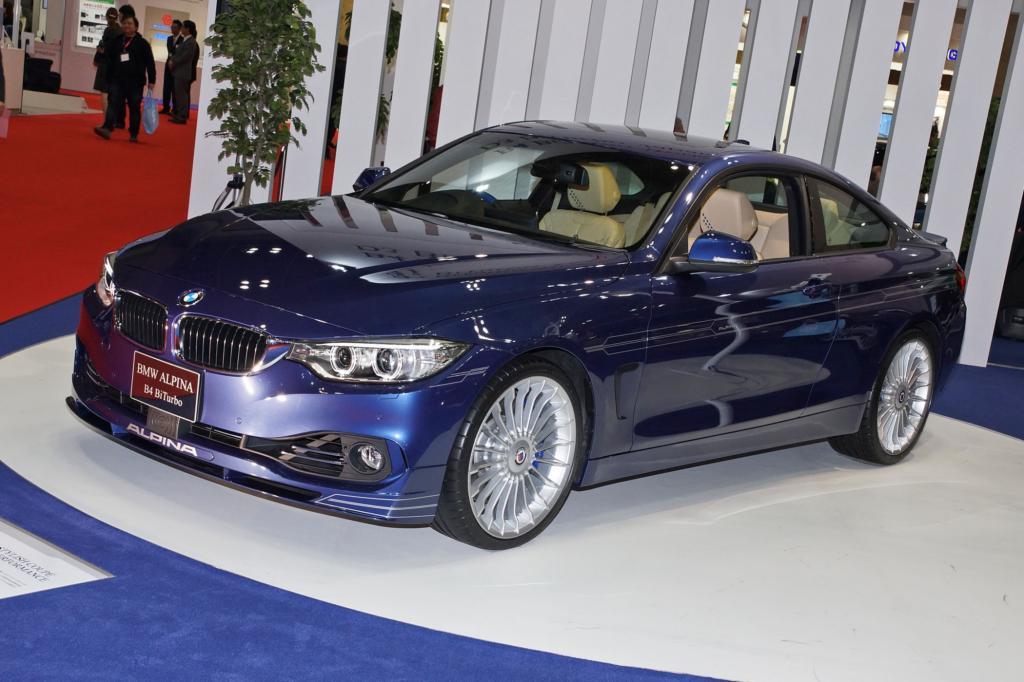 Kaum führt BMW das Vierer-Coupé in den Markt ein, liefert Alpina bereits eine Variante für gut betuchte Individualisten mit dem Wunsch nach ordentlichem Schub.