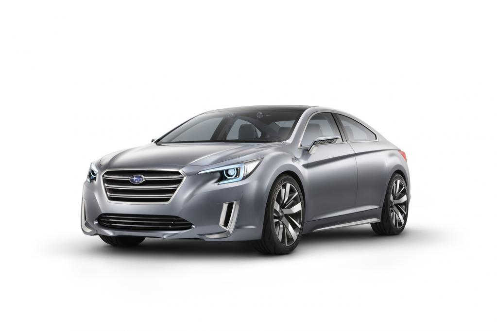 L.A. 2013: Subaru präsentiert Legacy Concept auf der L.A. Auto Show