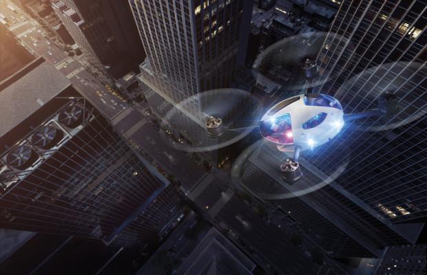 Lexus zeigt Kampagnenfilm mit Drohnenschwarm
