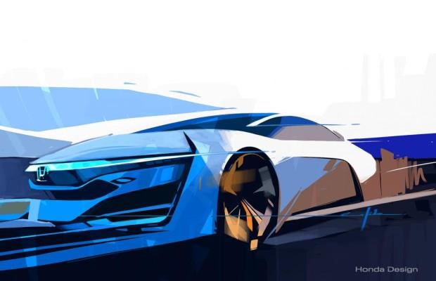 Los Angeles 2013: Honda Brennstoffzellen-Fahrzeug auf der Los Angeles Auto Show