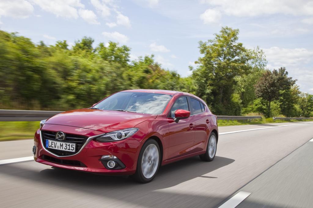 Mazda geht beim 3er einen technischen Sonderweg