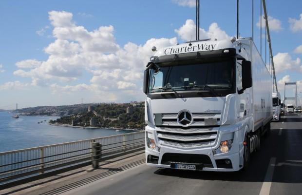 Mercedes-Benz Actros: Mehr Fitness für Trucker