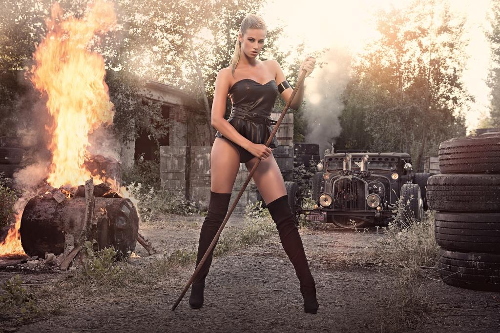 Miss Tuning Kalender 2014 - Das Fotoshooting ist im Kasten