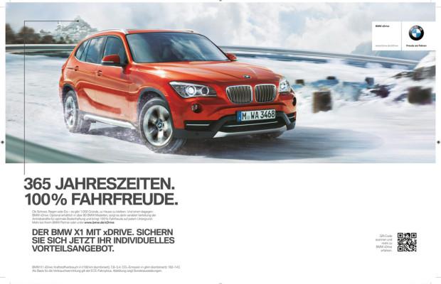 Mit dem ersten Frost startet BMW seine Allrad-Kanpagne