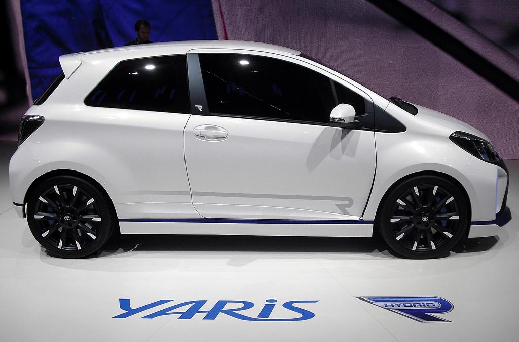 Mit elektrischem Antrieb: Toyota-Kleinwagen Yaris Hybrid-R.