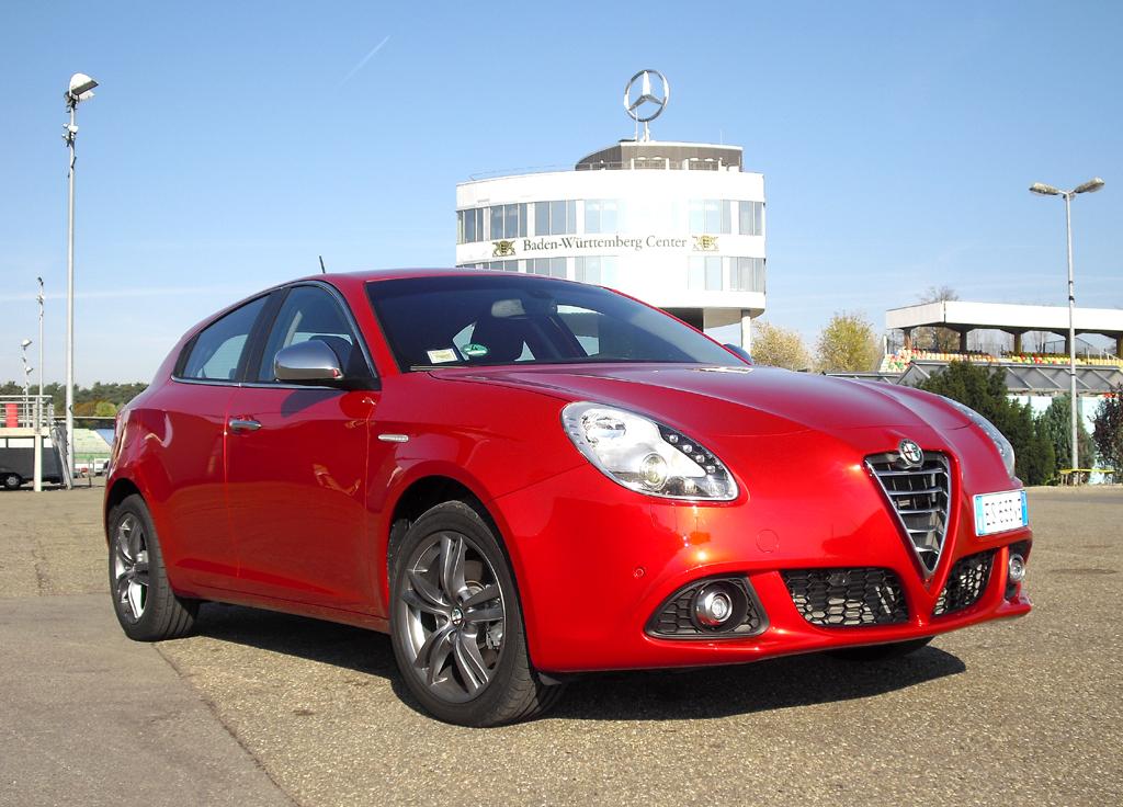 Modellgepflegte kleine Giulia: Alfa Romeo Giulietta.