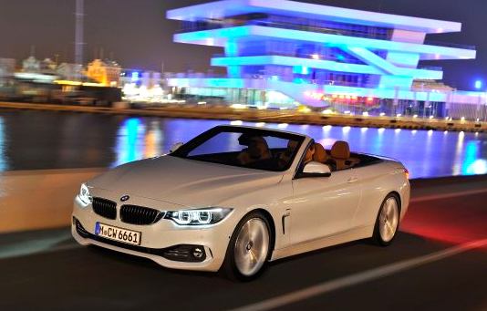 Neu bei BMW: 4er-Cabrio. Foto: BMW