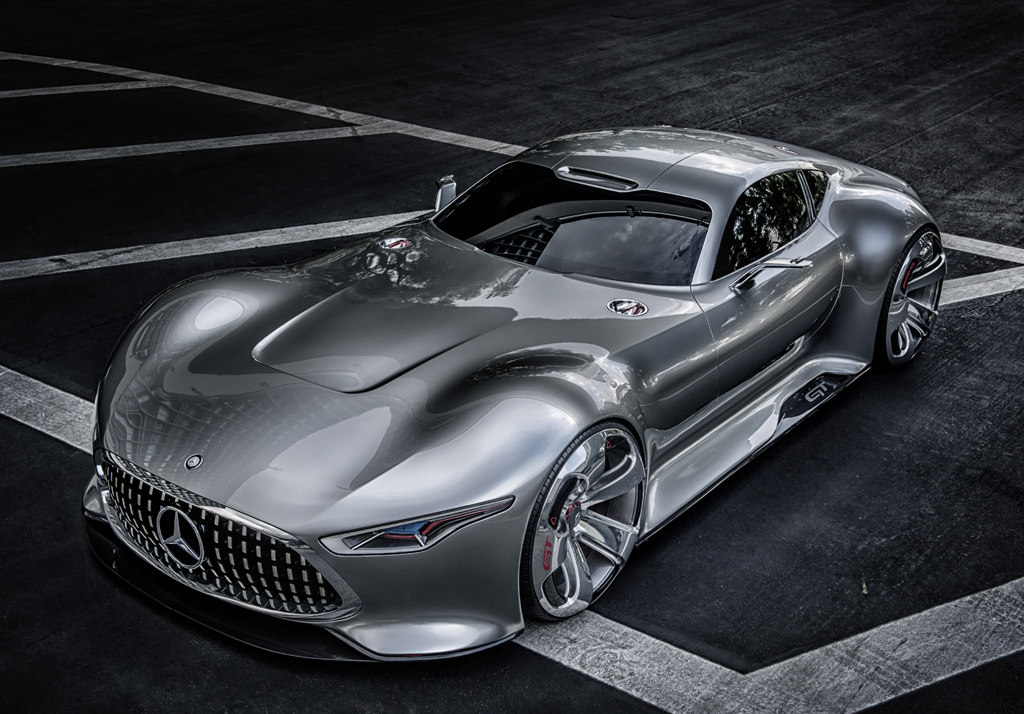 Neu bei Mercedes-AMG: Studie Vision Gran Turismo. Foto: Mercedes-AMG
