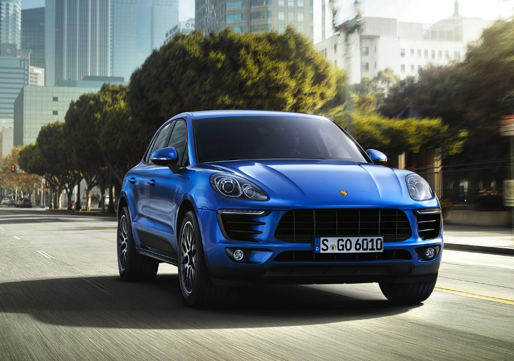 Neu bei Porsche: Kompakt-SUV Macan. Foto: Porsche
