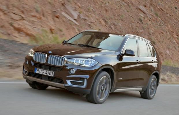 Neuer BMW X5 ab Werk mit speziellem SUV-Reifen von Hankook