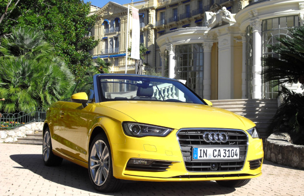 Neuer Freiluft-A3: Kompaktes Audi-Cabrio startet noch rechtzeitig zur Saison 2014