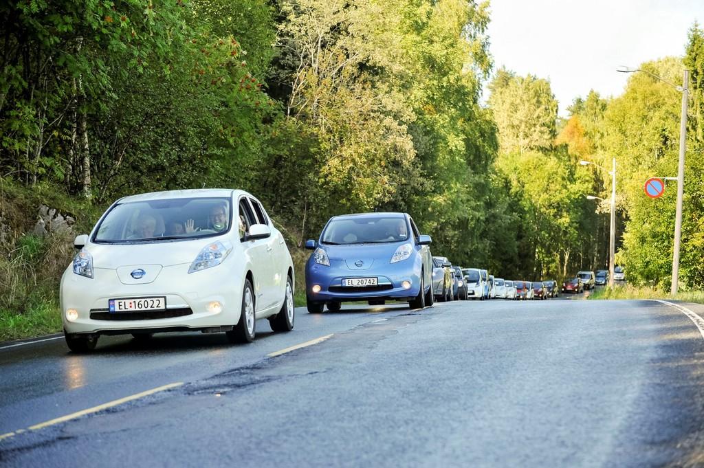 Nissan Leaf ist Topseller in Norwegen