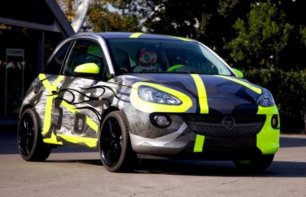 Opel Adam im Weltmeister-Design