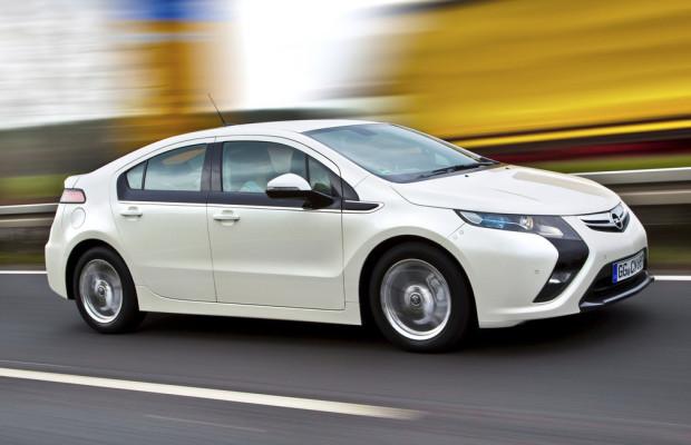 Opel Ampera fuhr 100 Millionen Kilometer elektrisch