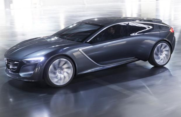 Opel Monza Concept macht das Armaturenbrett zum Event