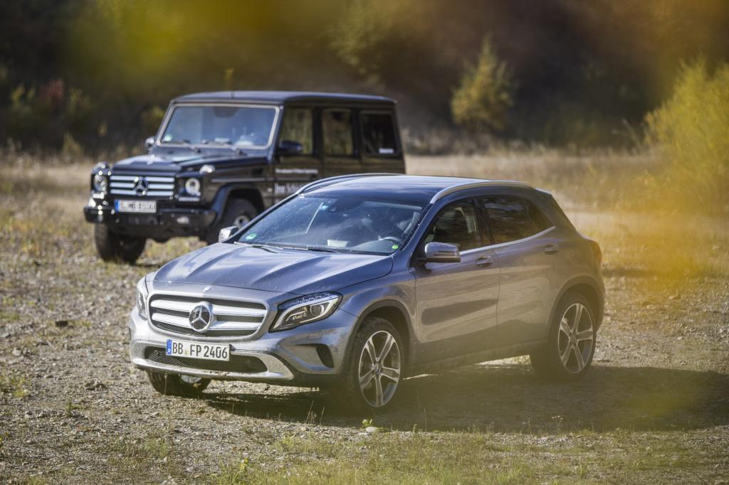 Panorama: Erprobungsfahrt mit dem Mercedes GLA - Der kleine Dreckskerl