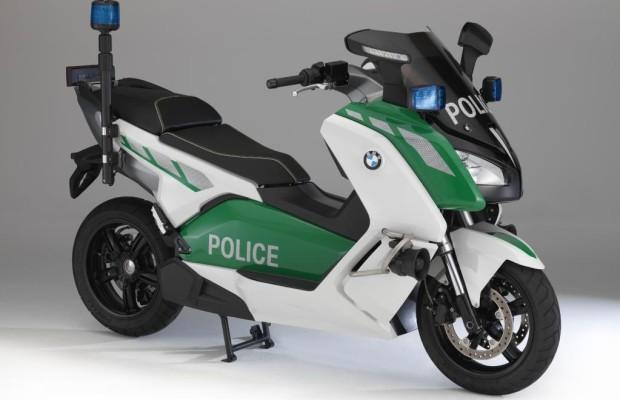 Polizei: Roller-Weltpremiere bei BMW