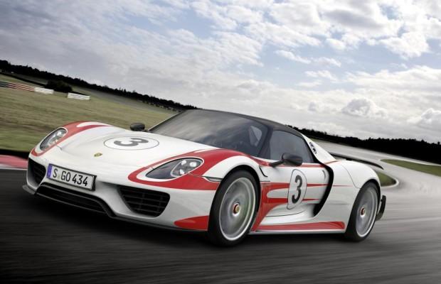 Porsche 918 Spyder - Stechen der Hybrid-Boliden