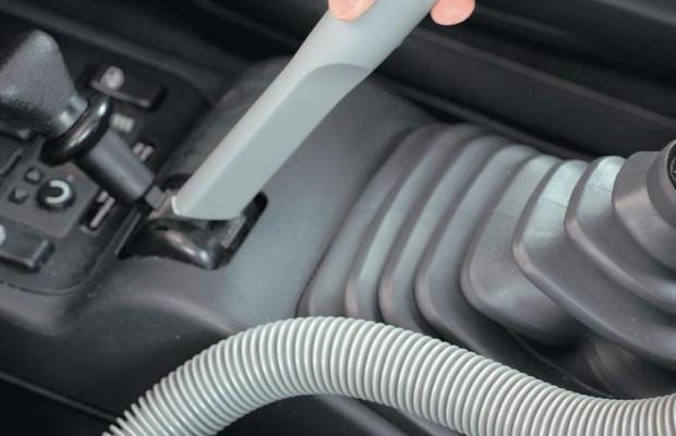 Praktischer Saubermann für Auto und Wohnmobil