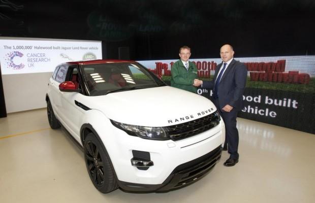 Produktionsjubiläum bei Jaguar Land Rover