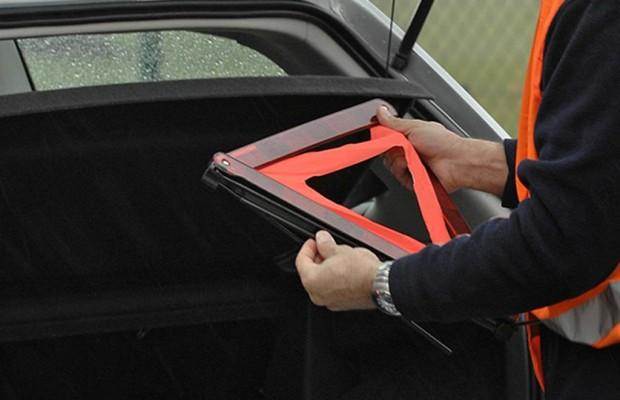 Recht: Haftung bei Autobahn-Unfall -  Immer das Warndreieck aufstellen