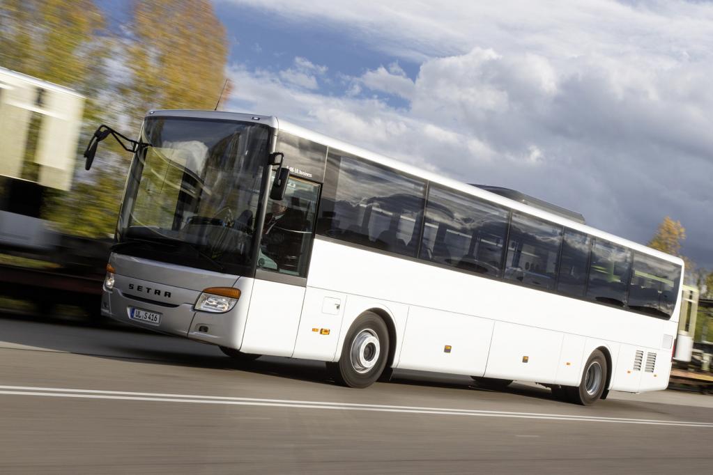 Setra: Business-Überlandbus aus der Türkei
