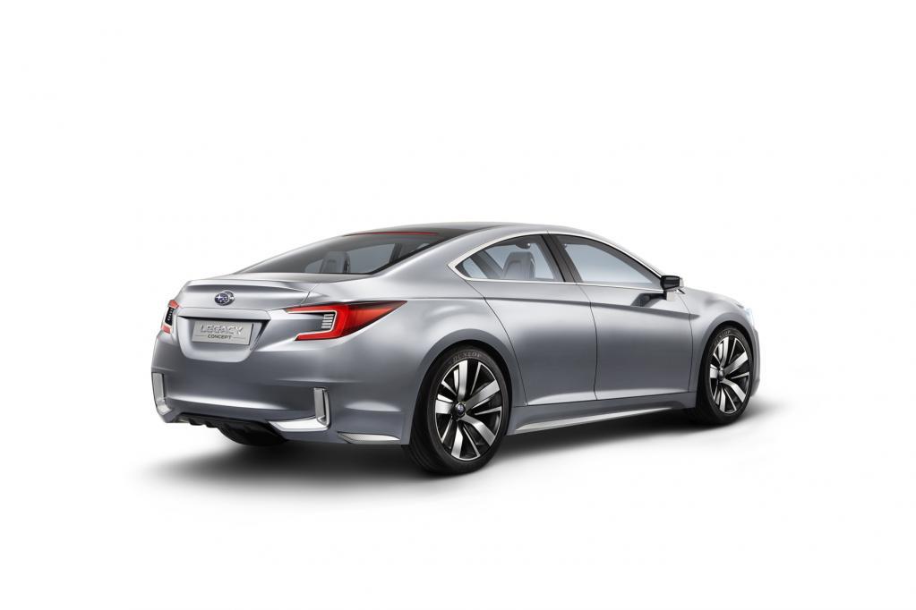 Subaru präsentiert Legacy Concept auf der L.A. Auto Show