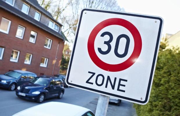 Tempo-30-Zonen: Erstmals vor 30 Jahren eingeführt